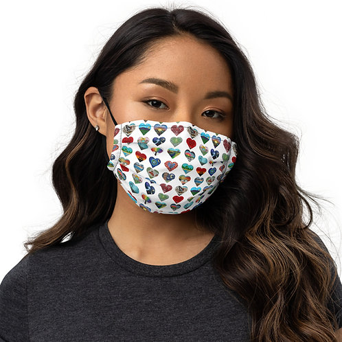 Heart Your Parks - Premium face mask