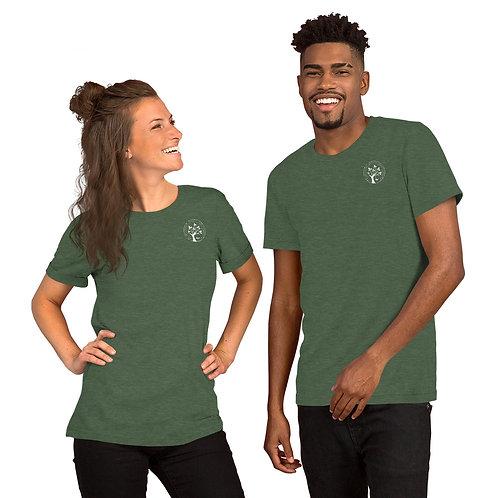 Short-Sleeve Unisex T-Shirt - White Logo