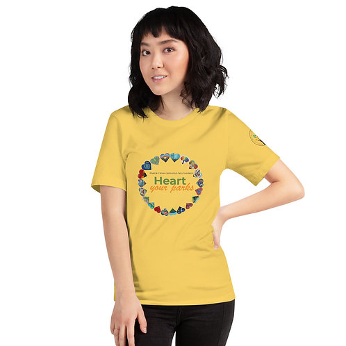 Heart Your Parks! - Short-Sleeve Unisex T-Shirt -