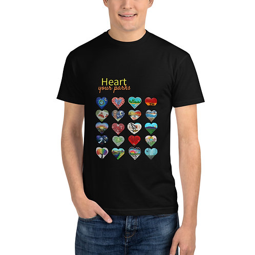 Heart Your Parks Sustainable T-Shirt