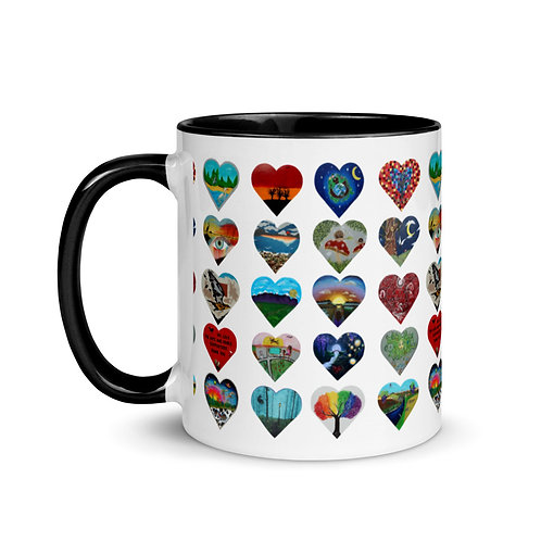 Heart Your Parks Mug with Color Inside