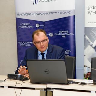 Bartosz Korbus, Instytut PPP, Forum Liderow PPP Warszawa