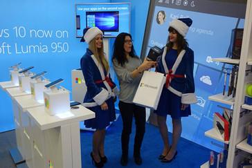 Stoisko expo Microsoft