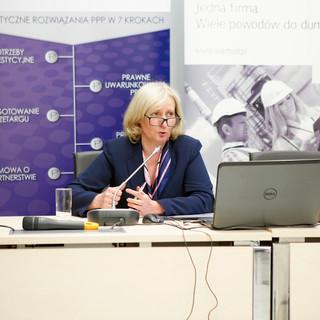 Janina Pokrywa, Kraków, Forum Liderow PPP Warszawa