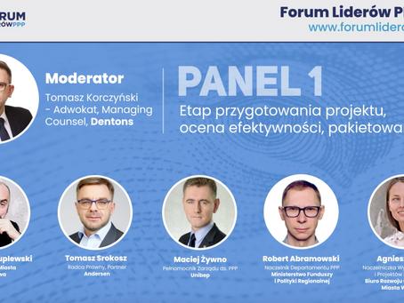 Forum Liderów PPP - Panel 1