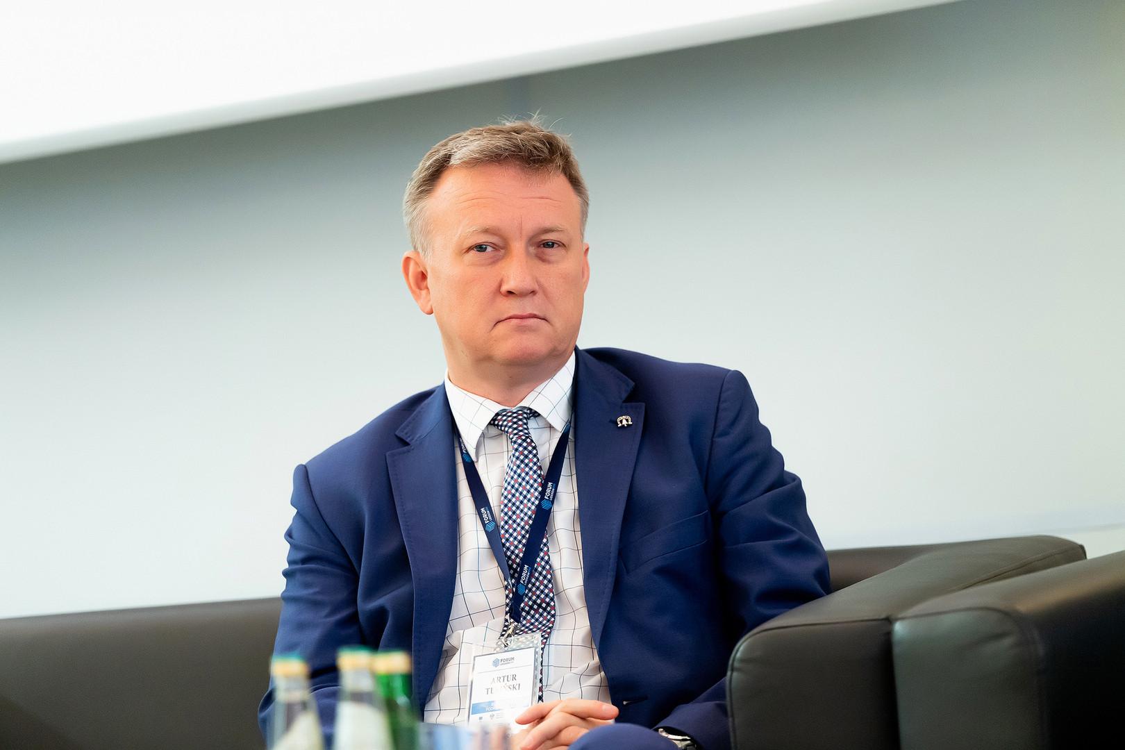 Burmistrz Podkowy Leśnej Artur Tusiński