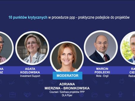 Forum Liderów PPP - 10 punktów krytycznych w procedurze PPP, praktyczne podejście