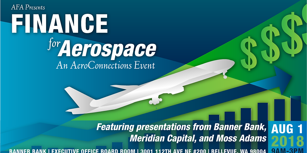 August   Finance for Aerospace - an AeroConnections Event