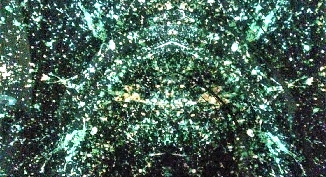 Christuskirche 'Alien Matrix' projection