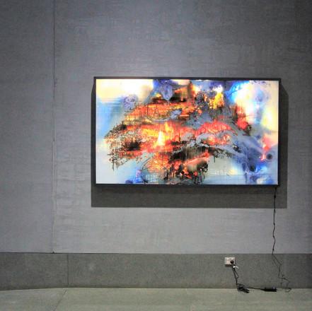 Dreamcatcher interactive art piece