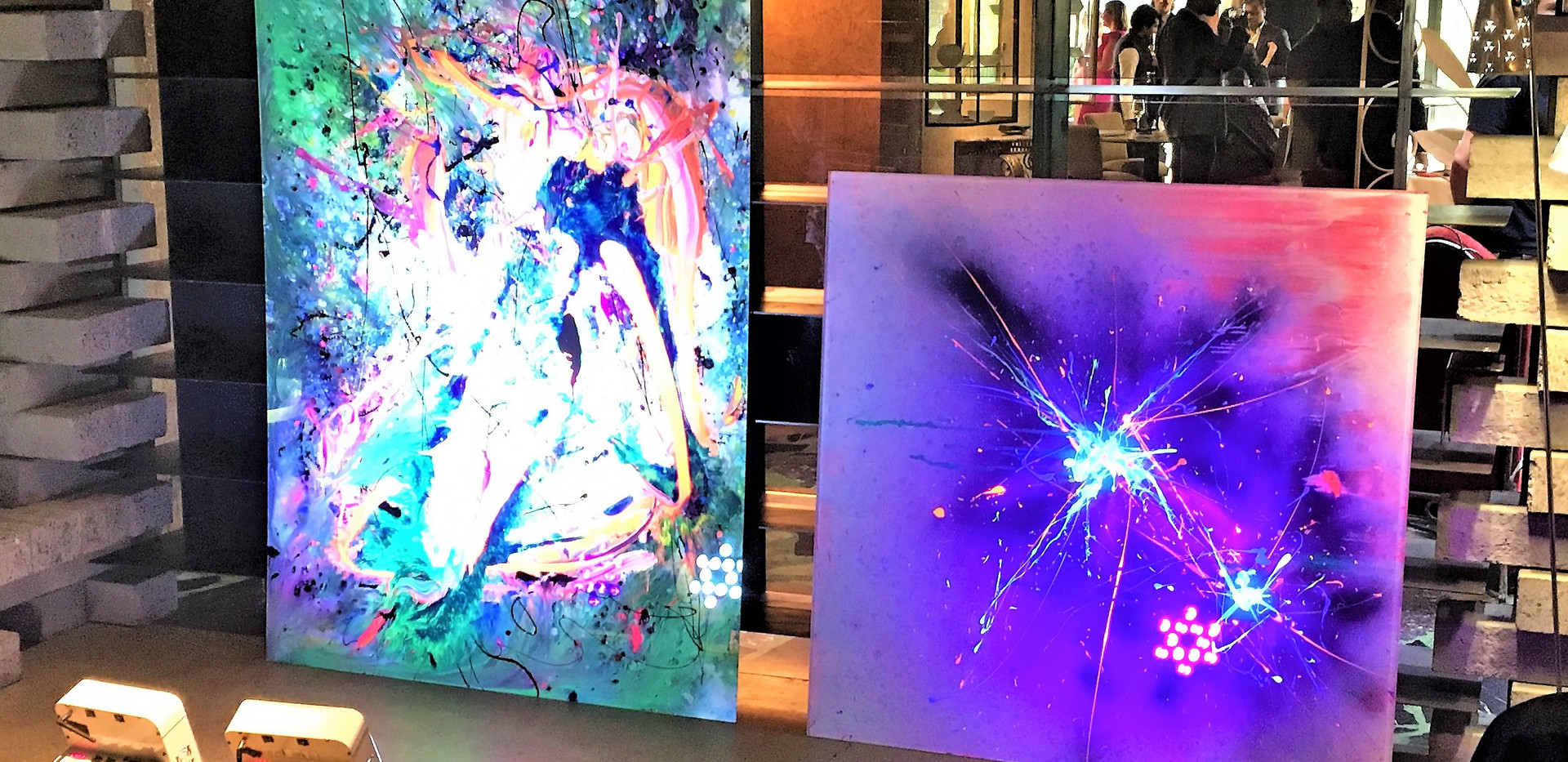 Larger pieces at Ovolo Nishi Party