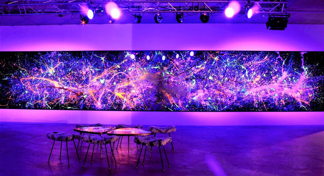 VOYAGE 12m luminous art piece