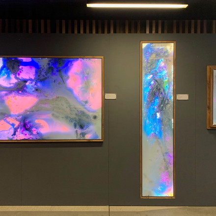 Trio of interactive art pieces @ ArtNotApart 2019