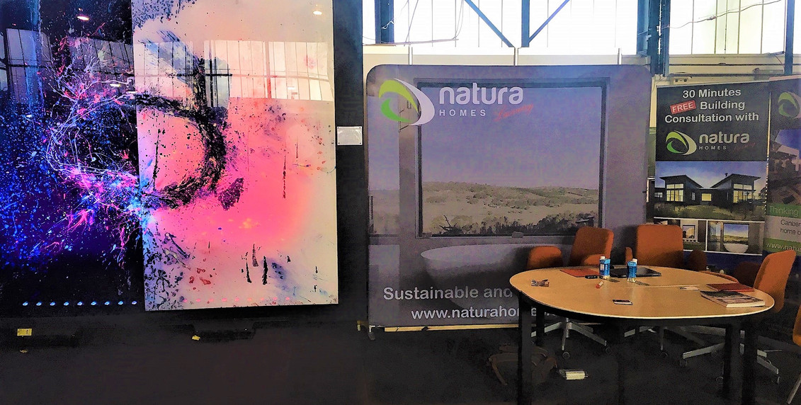 Great times with a spot with Natura Homes @Canberra Building and Renovation Expo