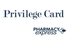 Pharmacy Express Privilege Card