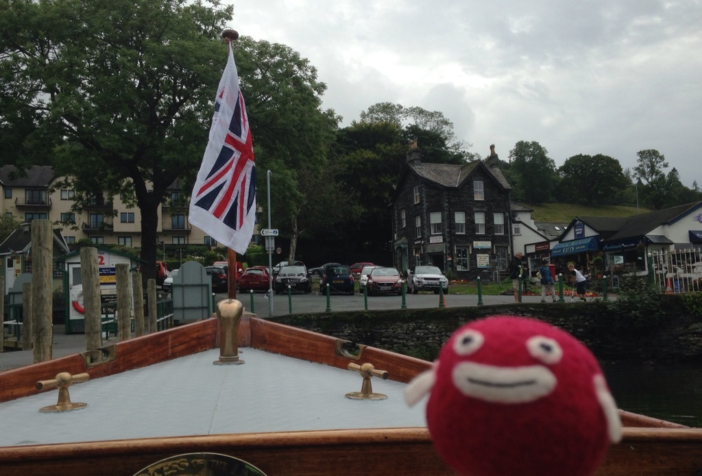 PIDAN GOES TO LAKE DISTRICT