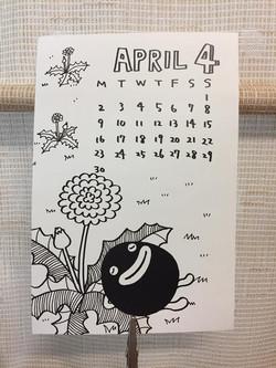 April 18 Calendar