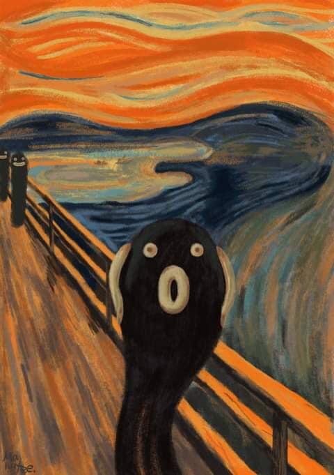 Pidan's scream