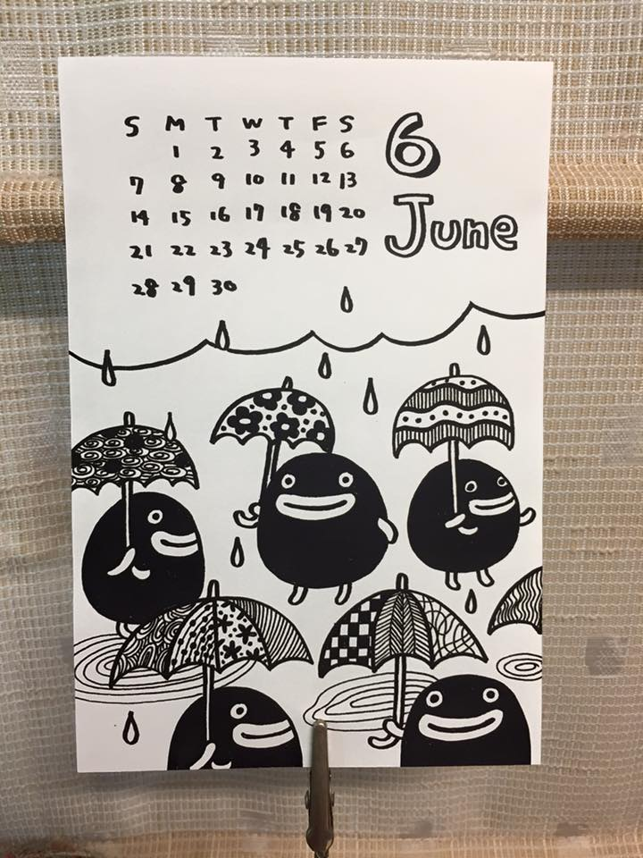 Pidan CalendarJune 2015