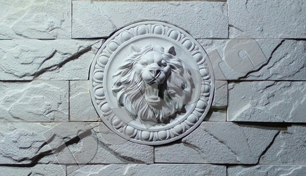 Декоративный камень Лев