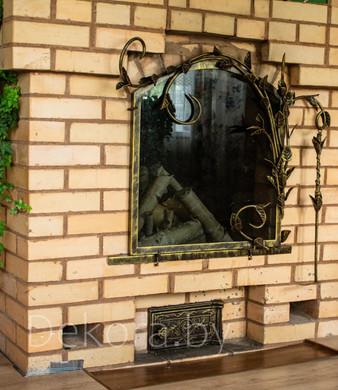 Экран кованный для камина Dekora