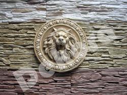 Гипсовый камень Лев