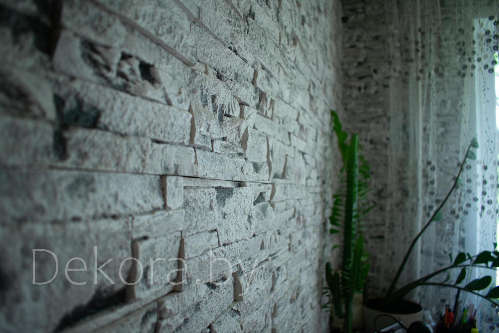 """Гипсовый декоративный камень Dekora """"Каменный пласт"""""""