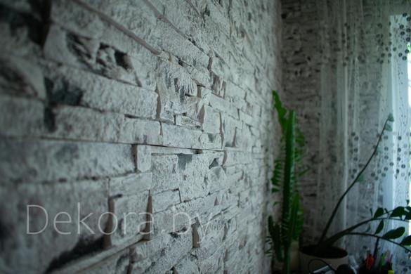 """Декоративный камень """"Каменный пласт"""" окр. поверху"""
