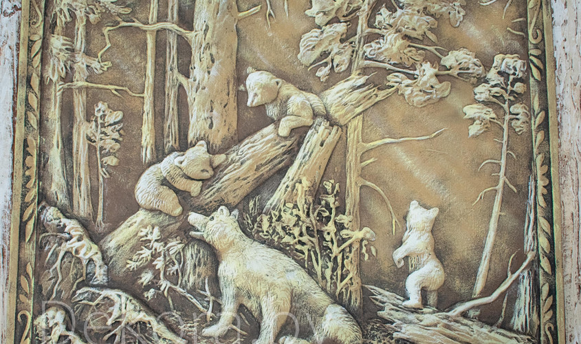 "Картина барельеф Dekora ""Утро в бору"""