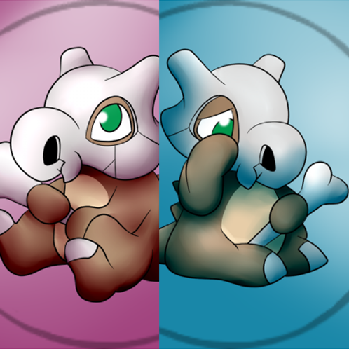 Cubone Buttons - Roseli Set