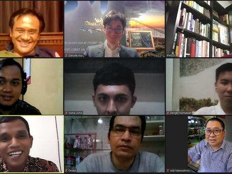 インドネシア人求職者とweb意見交換会を開催しています