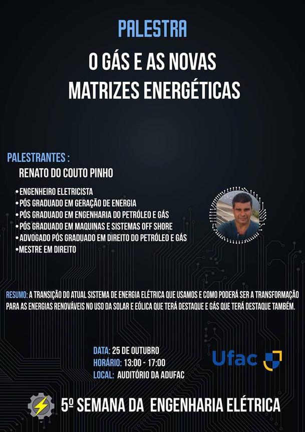 5ª SEMANA ENGª ELÉTRICA UFAC