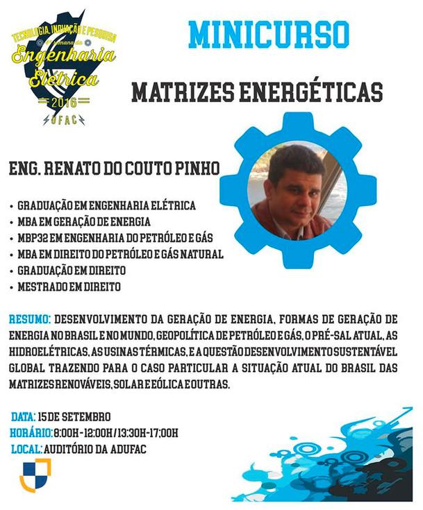 Mini Curso - Matrizes Energéticas