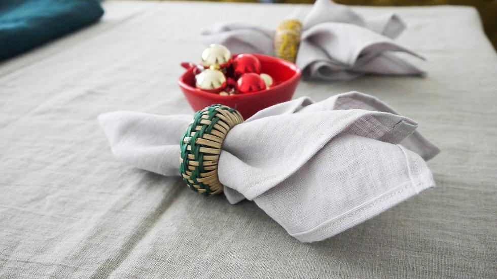 Pure Linen Napkins, OEKO-TEX Certified Stonewashed and Handmade