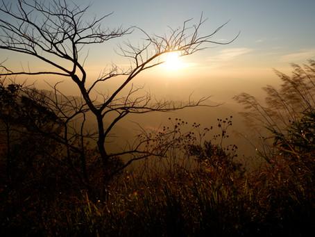 Sunrise in Laos