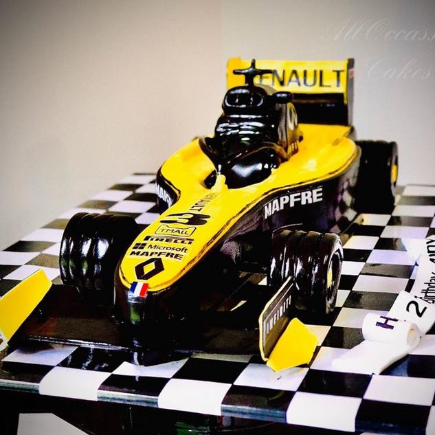 Daniel Ricciardo's Formula 1 Race car