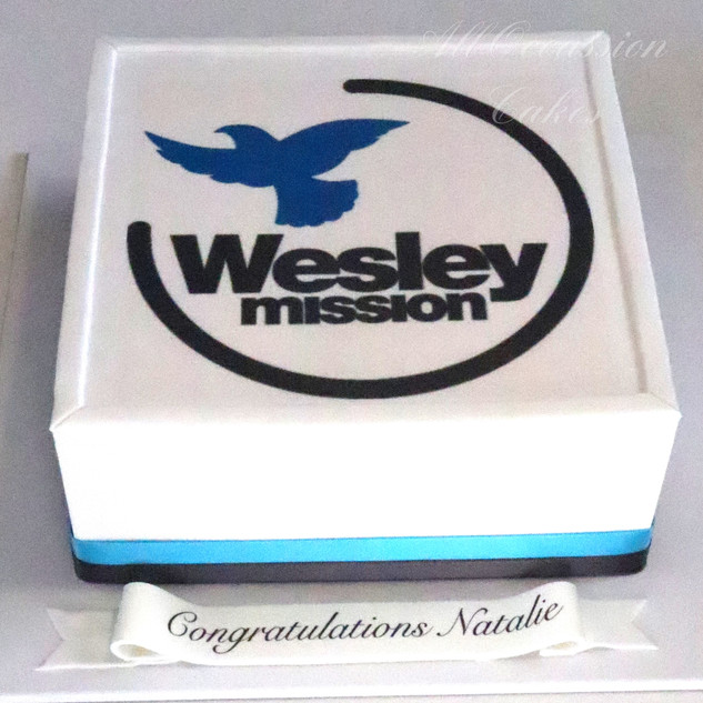 Wesley Mission Corporate Cake