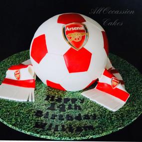 Arsenal 3D Soccer Ball