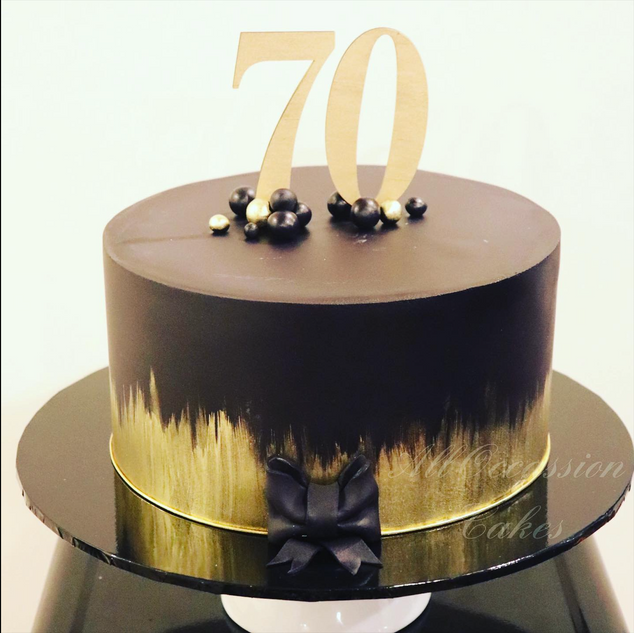 Black & Gold 70th