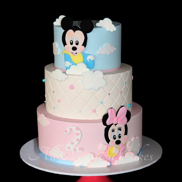 Baby Minnie & Mickey Mouse