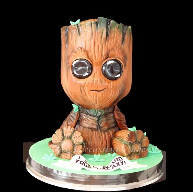 3D Baby Groot