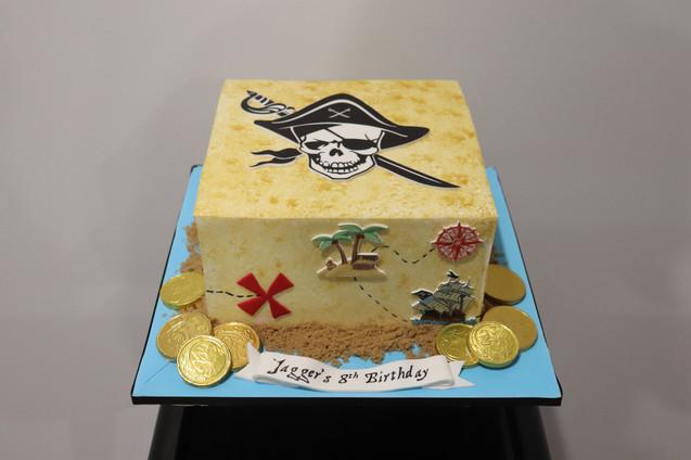 Jagger's Pirate Treasure Map