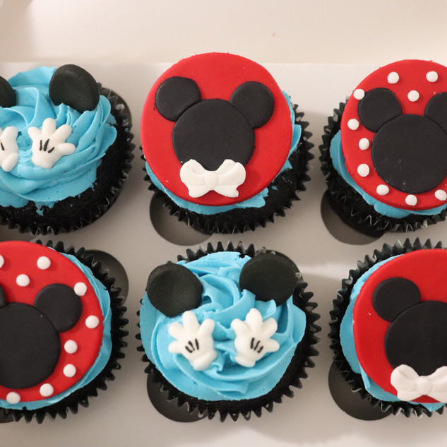 Mickey Mouse Club House Cupcakes