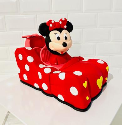 Minnie Mouse Bow Car