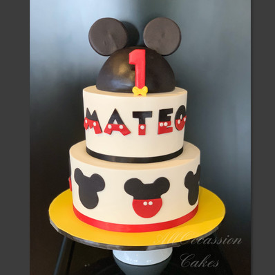 """""""Mateo's"""" Mickey Mouse"""
