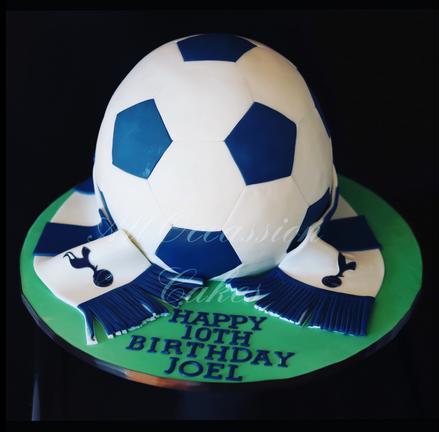 Tottenham hotspurs soccer ball with Pinata surprise