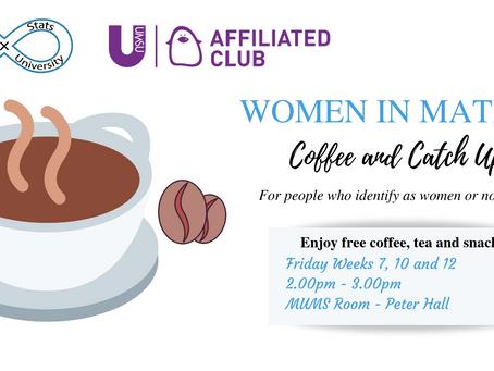 Women in Maths - Coffee Catch Ups