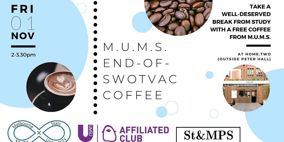 End-of-SWOTVAC Coffee