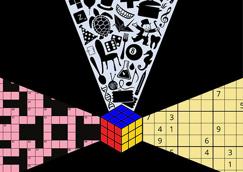 puzzles rubix cube sudoku crossword