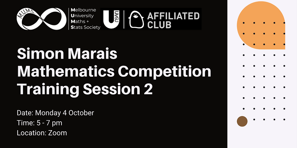 Simon Marais Mathematics Competition Training Session 2